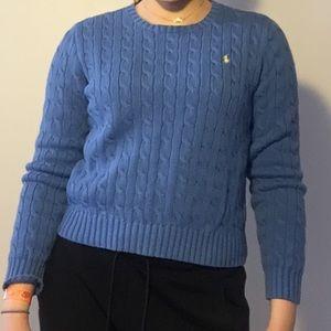 Ralph Lauren Blue Knit Sweater